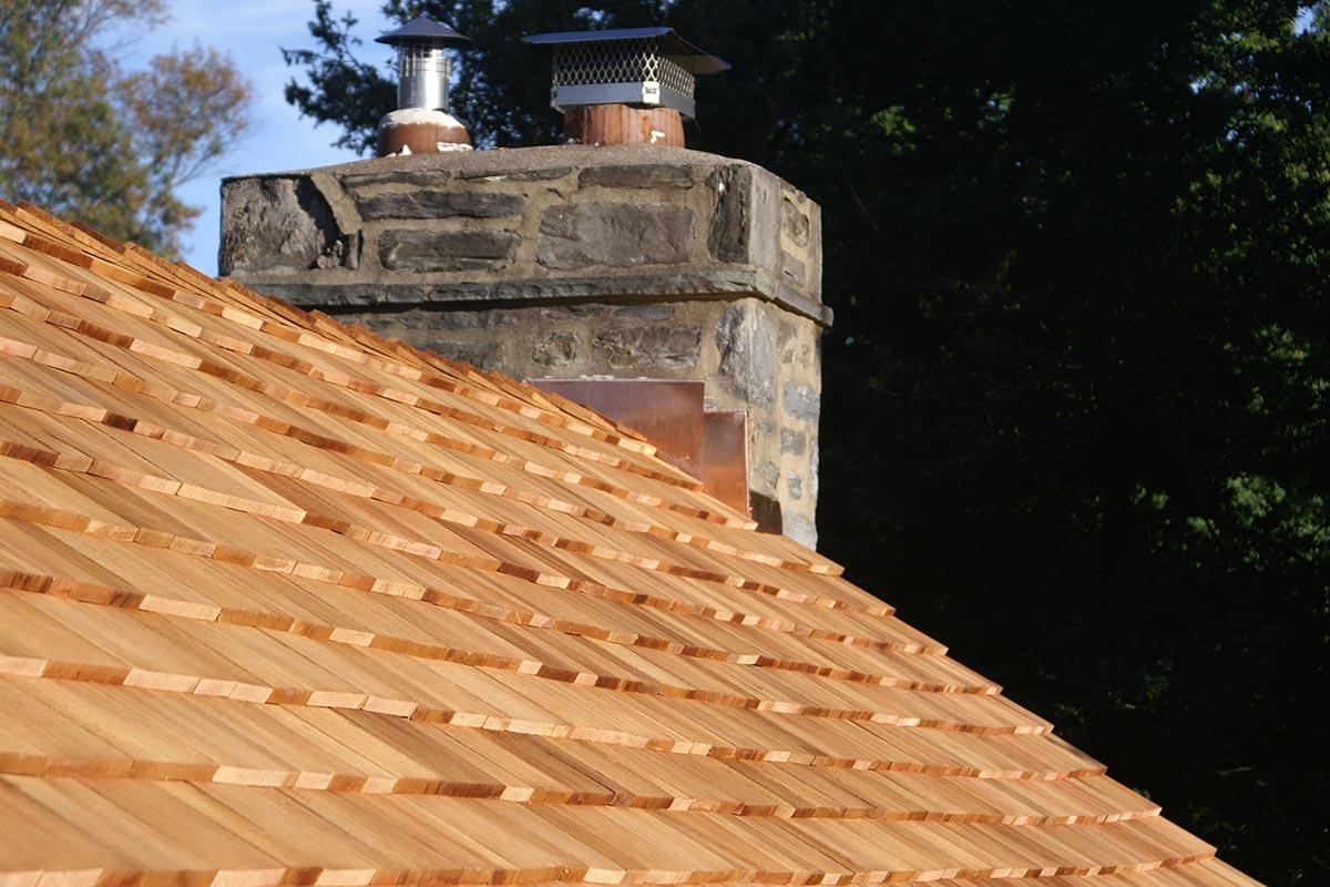 Cedar Roof by A.H. Davis & Son