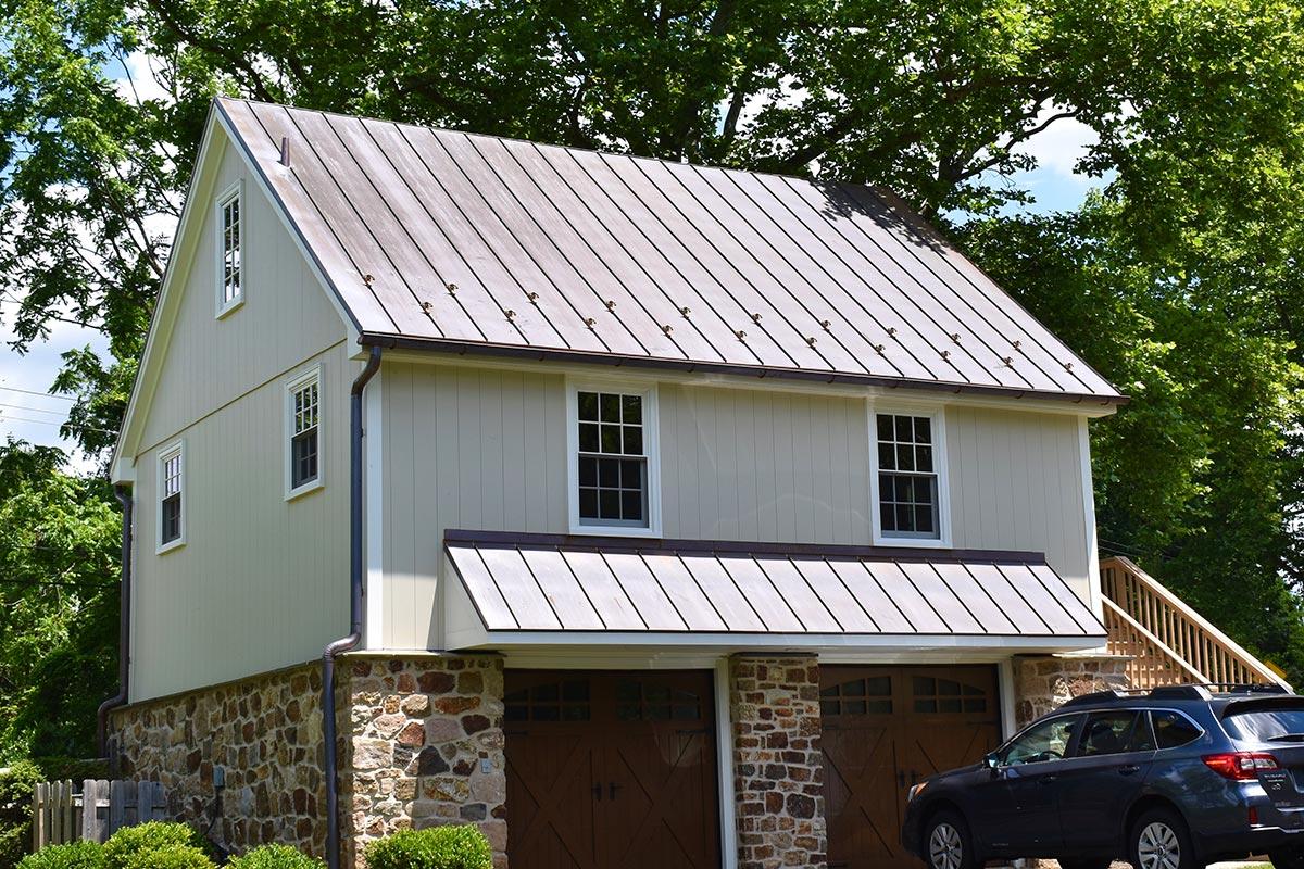 Copper Roof by A.H. Davis & Son