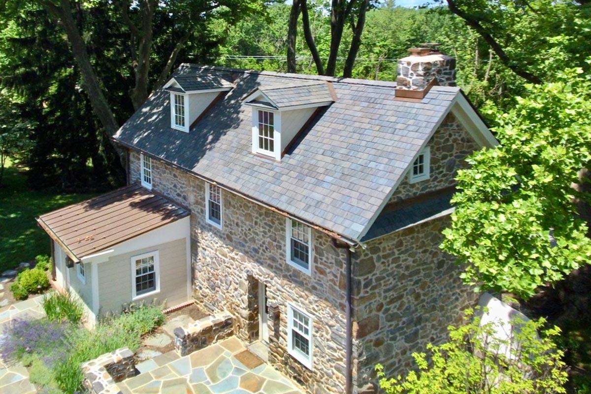 Slate Roof by A.H. Davis