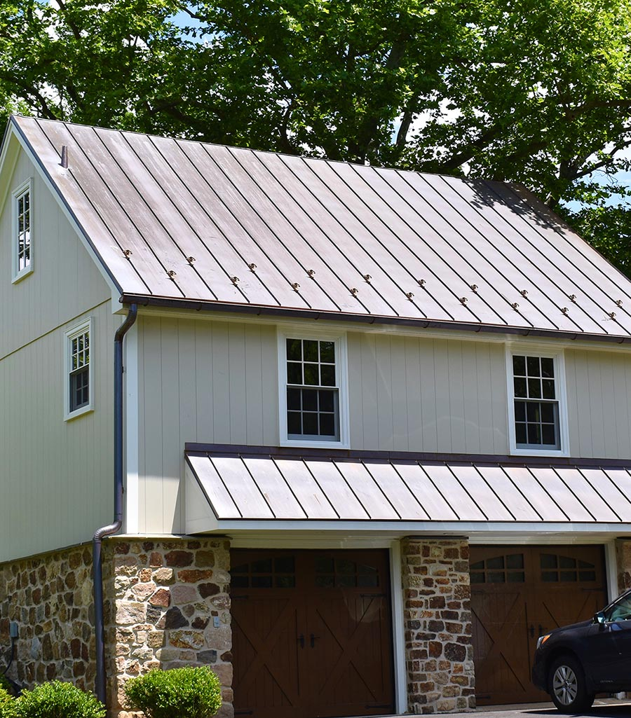 Asphalt roof by A.H. Davis & Son