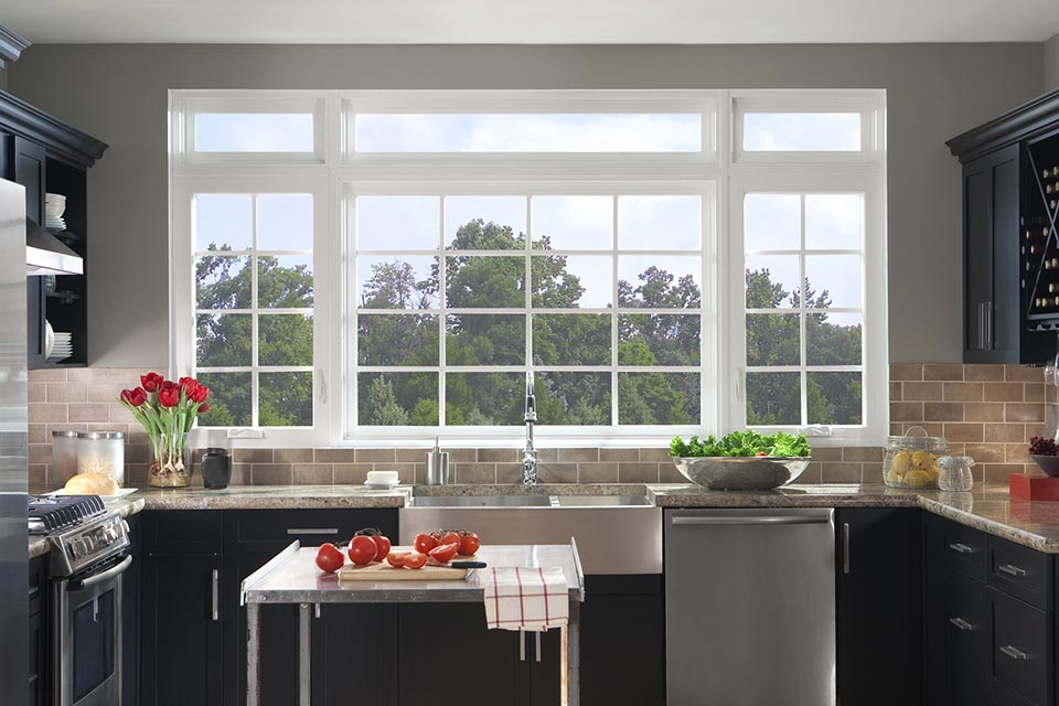 Windows installed by A.H. Davis